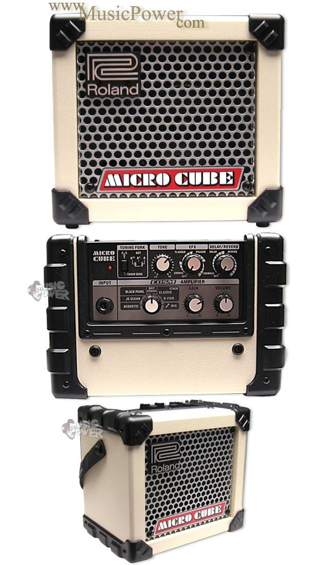 Roland Micro Cube White комбоусилитель для электрогитары