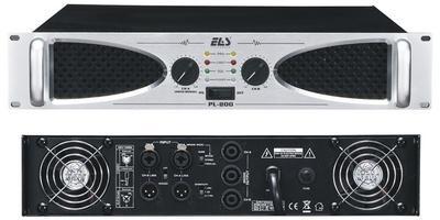 ROXY ELAS PL-800 Профессиональный Усилитель мощности