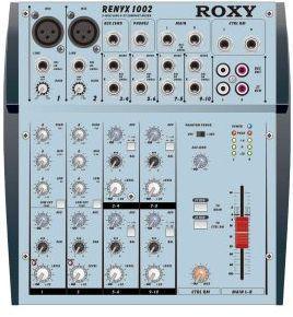 Roxy Renyx 1002 - Профессиональный Концертный Звуковой Микшерный Пульт