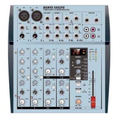 Roxy Renyx 1002FX - Профессиональный Концертный Звуковой Микшерный Пульт