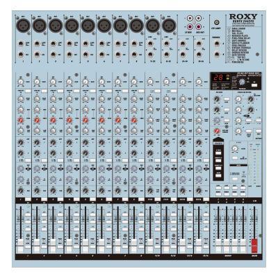 Roxy RENYX 2442FX - Профессиональный Концертный Звуковой Микшерный Пульт