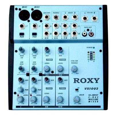 Roxy VX 1002- Профессиональный Концертный Звуковой Микшерный Пульт