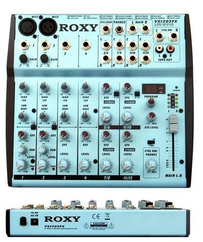 Roxy VX 1202FX- Профессиональный Концертный Звуковой Микшерный Пульт С процессором эффектов
