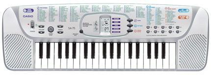 Синтезатор Casio SA-75 детский