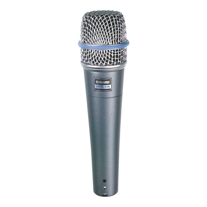 SHURE BETA57A Динамический суперкардиоидный инструментальный микрофон