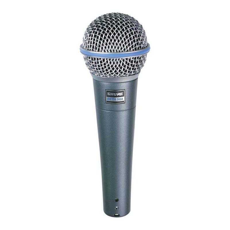 SHURE BETA58A Динамический суперкардиоидный вокальный микрофон