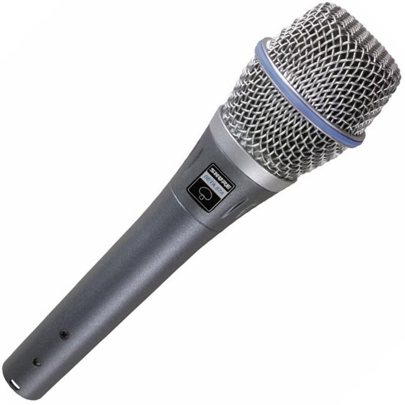 SHURE BETA87A Конденсаторный вокальный микрофон