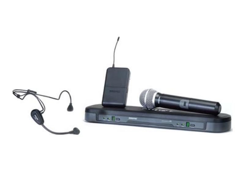 SHURE PG1288/PG30 Микрофонная система с 1-м ручным микрофоном PG58 и головным PG30