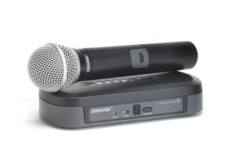 SHURE PG24/PG58 Микрофонная система с капсюлем динамического микрофона PG58