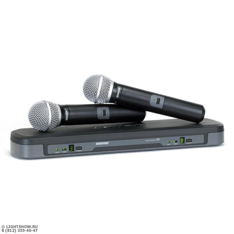SHURE PG288/PG58 Микрофонная система с 2-мя ручными микрофонами PG58