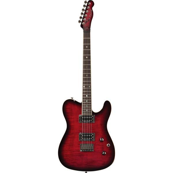 Гитара электро FENDER SPECIAL EDITION CUSTOM TELECASTER RW HH BLACK CHERRY BURST