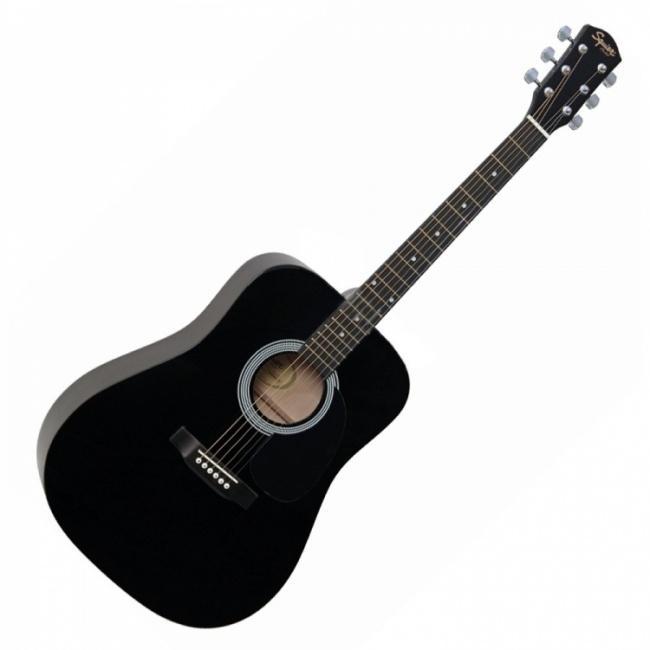 Гитара акустическая FENDER SQUIER SA-105 BLACK