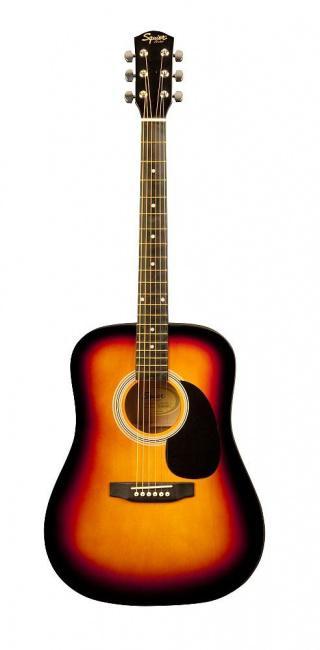 Акусическая гитара FENDER SQUIER SA-105 SUNBURST