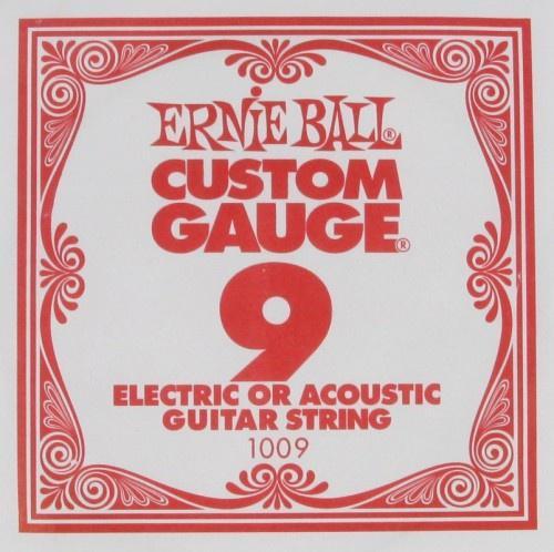 Струна для электро и акустических гитар Ernie Ball 1009