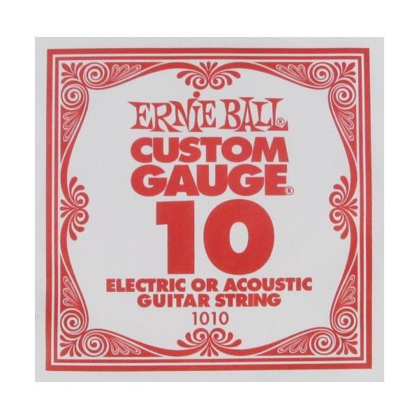 Струна для электро и акустических гитар Ernie Ball 1010