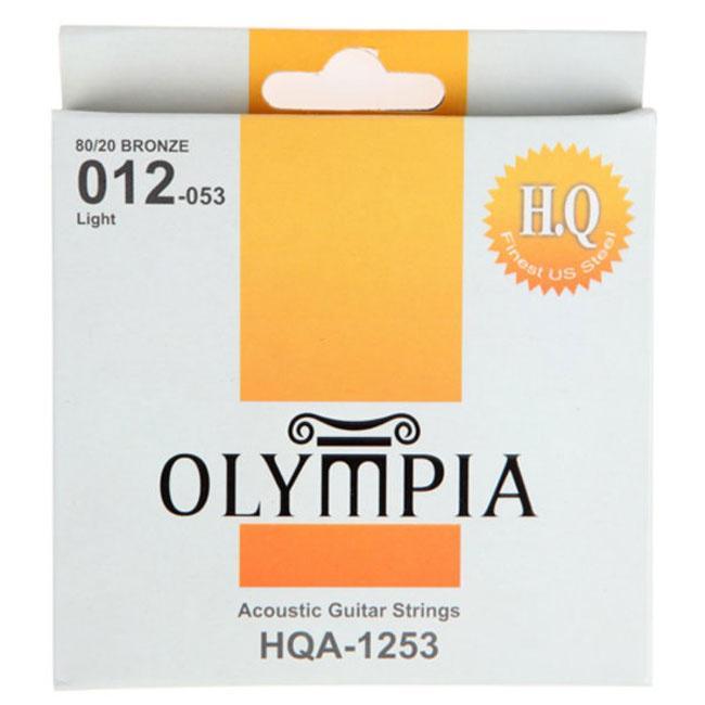 Струны для акустической гитары Olympia HQA1253