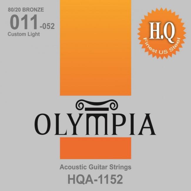 Струны для акустической гитары Olympia HQA1152