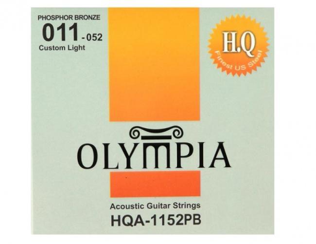 Струны для акустической гитары Olympia HQA1152PB