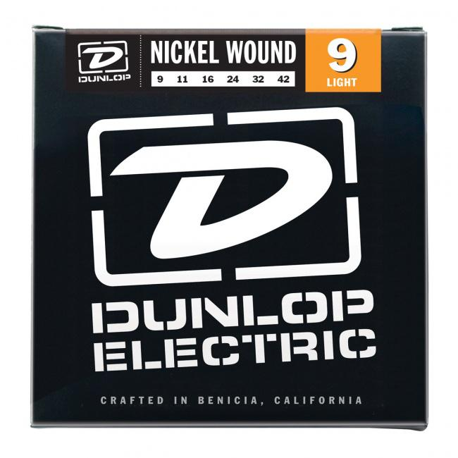 Струны для электрогитары DUNLOP Nickel Wound Light (9-42)