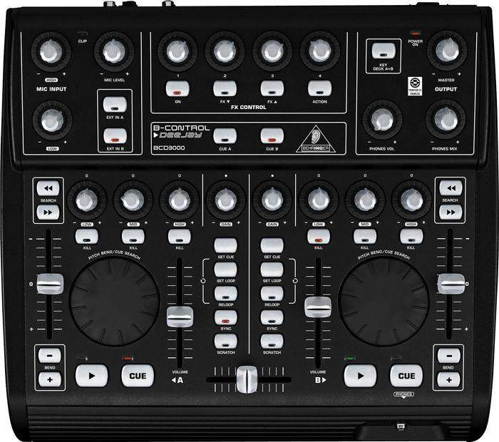 Ультимативная DJ-машина Behringer B-Control DeeJay BCD3000