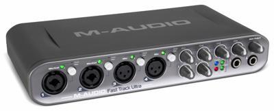 Звуковая карта M-Audio Fast Track Ultra