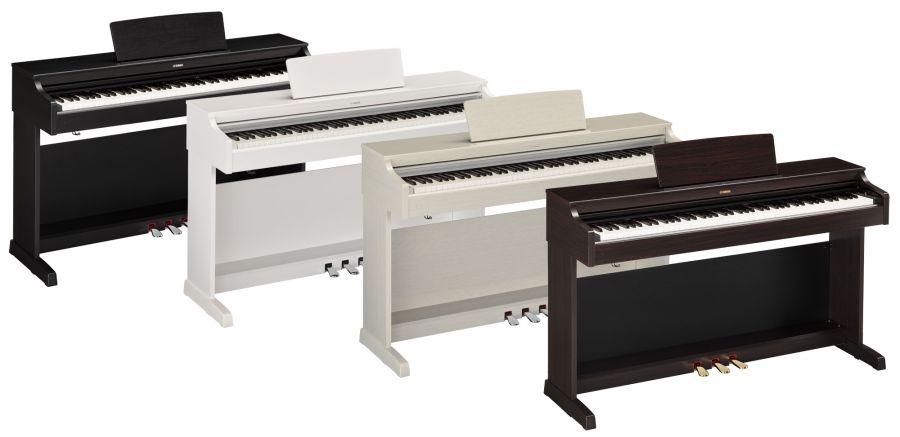 Новые цифровые пианино Yamaha YDP-143 и YDP-163