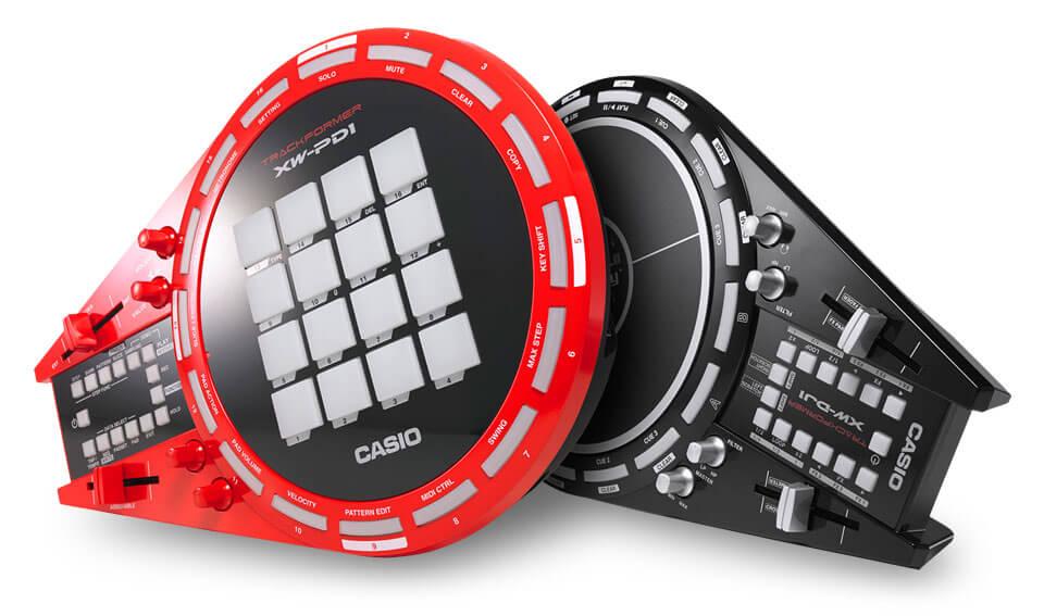 Casio XW-PD1 и Casio XW-DJ1